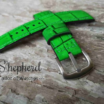 Embossed strap 603